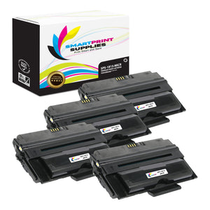 4 Pack Dell 1815 MICR Replacement Black Toner Cartridge by Smart Print Supplies /5000 Pages