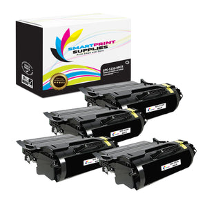 4 Pack Dell 5230 MICR Replacement Black Toner Cartridge by Smart Print Supplies /21000 Pages