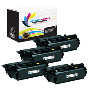 4 Pack Dell 5310 MICR Replacement Black Toner Cartridge by Smart Print Supplies /32000 Pages