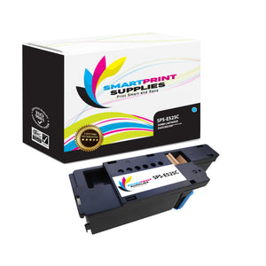 Dell E525C Replacement Cyan Toner Cartridge by Smart Print Supplies /1,400  Pages