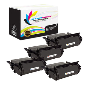 4 Pack Dell M5200 MICR Replacement Black Toner Cartridge by Smart Print Supplies /18000 Pages