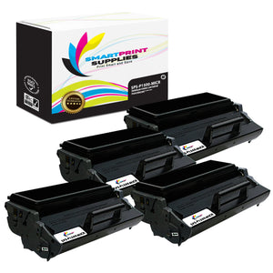 4 Pack Dell P1500 MICR Replacement Black Toner Cartridge by Smart Print Supplies /6000 Pages