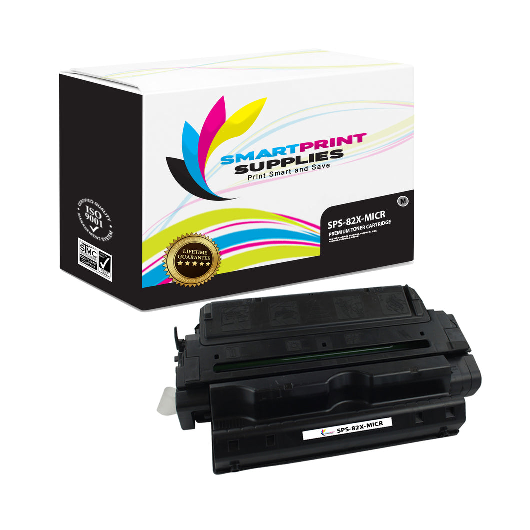 HP 82X C4182X Replacement Black High Yield MICR Toner Cartridge by Smart Print Supplies