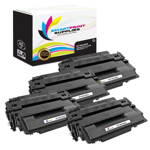 4 Pack HP 98A 92298A Replacement Black MICR Toner Cartridge by Smart Print Supplies