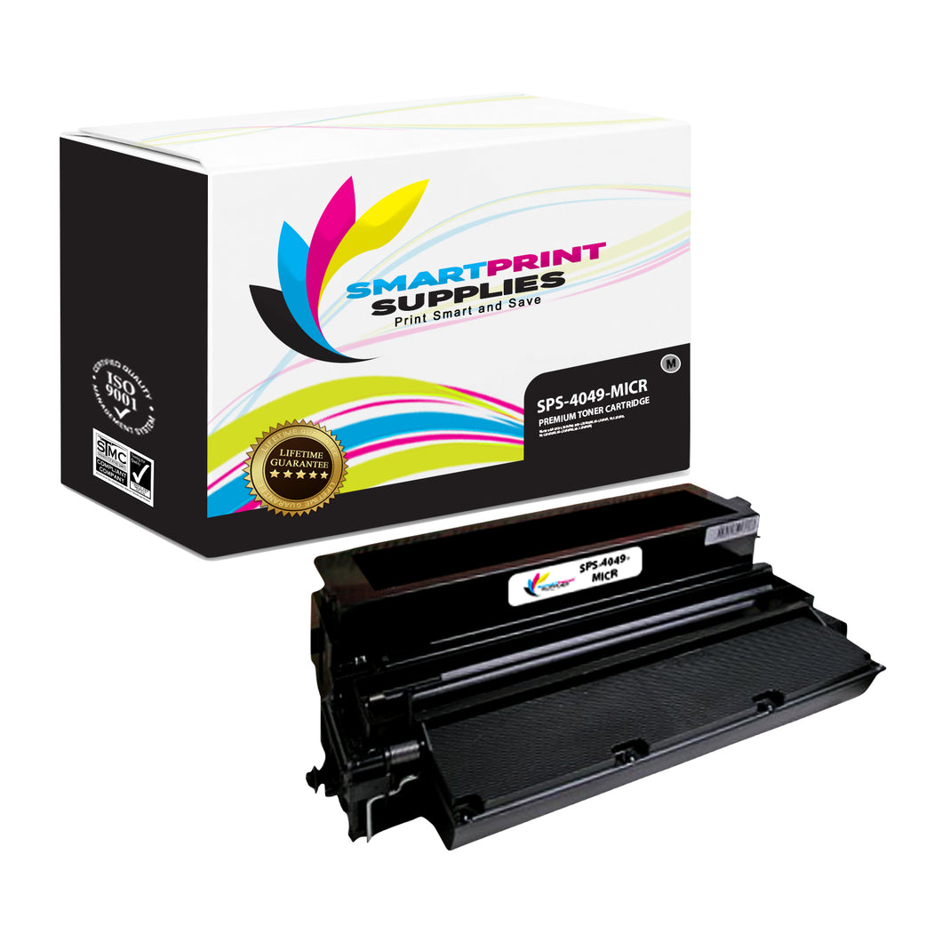 Lexmark 4049 Replacement Black MICR Toner Cartridge by Smart Print Supplies