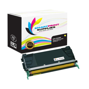 Lexmark C534HY Replacement Yellow Toner Cartridge by Smart Print Supplies