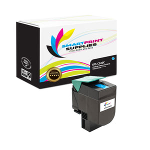Lexmark C540 Replacement Cyan Toner Cartridge by Smart Print Supplies
