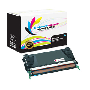 Lexmark C734 Replacement Cyan Toner Cartridge by Smart Print Supplies