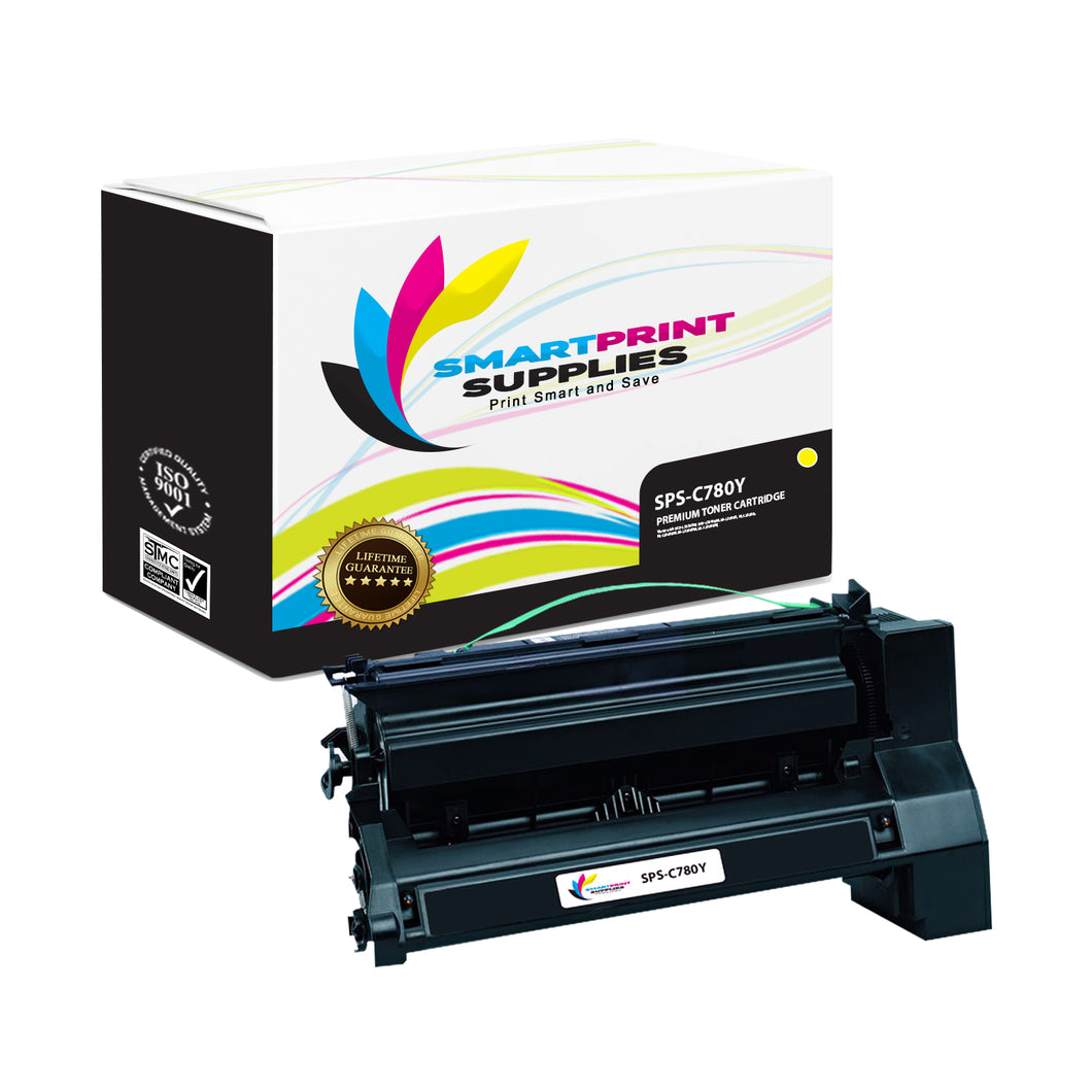 Lexmark C780 Replacement Yellow Toner Cartridge by Smart Print Supplies