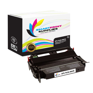 Lexmark T630 Replacement Black MICR Toner Cartridge by Smart Print Supplies