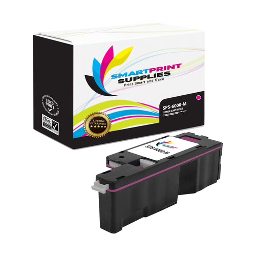 1 Pack Xerox Phaser 6000 Magenta Toner Cartridge Replacement By Smart Print Supplies