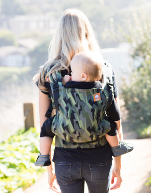 Black Lightening -  Ju-Ju-Be - Tula Free-to-Grow Baby Carrier