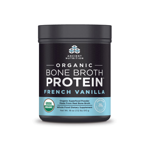 Organic Bone Broth Protein French Vanilla - 18 Oz (510g)