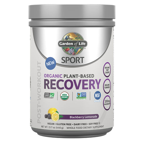 SPORT Organic Post-Workout Recovery Blackberry Lemonade - 16 Oz (466g)