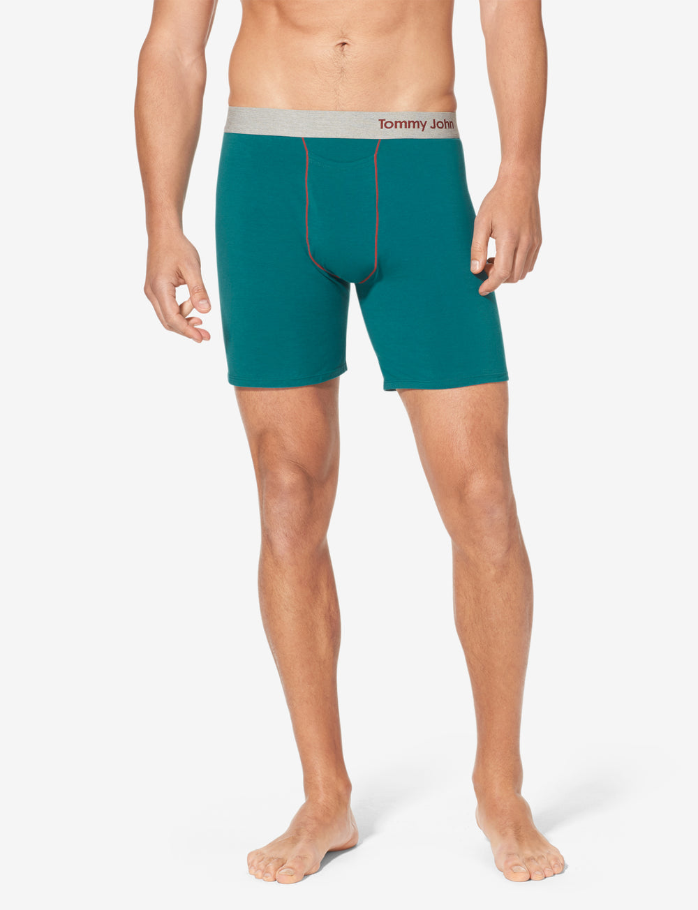 Cool Cotton Contrast Stitch Relaxed Fit Boxer Details Image