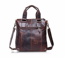Genuine Leather Vintage Buffalo Messenger Bags Satchel Laptop Briefcase Men's Bag