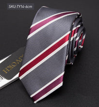 Striped Neckties