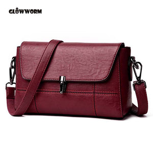 Women Fashion Sheepskin Leather Designer Handbags High Quality.