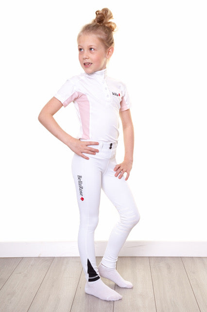 Bella Rose Junior Competition Knee Grip Riding Leggings