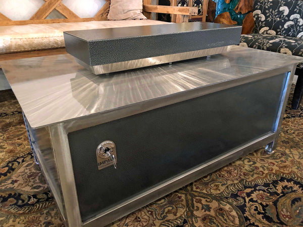Stainless Steel & Powder Coated Steel Firebox Covers - Impact Imports