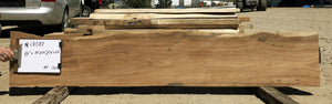 Natural Live Edge Wood Slab for Mantel, Bar Top, Bench Seat, Console Table - N18087 - Impact Imports