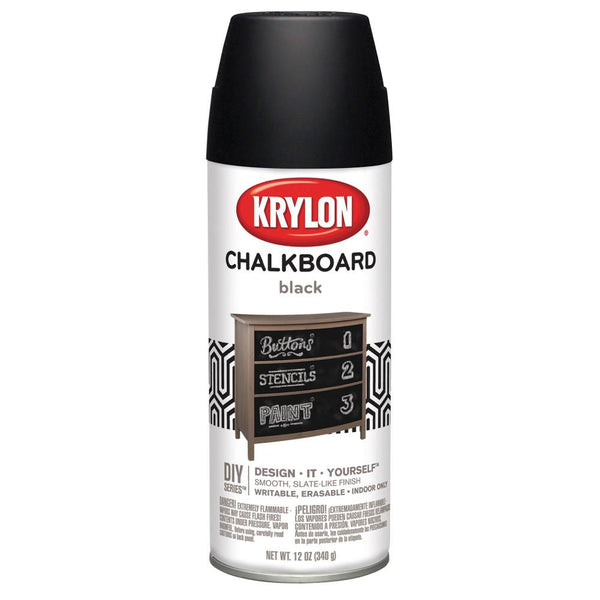 Krylon Chalkboard Spray Paint Black