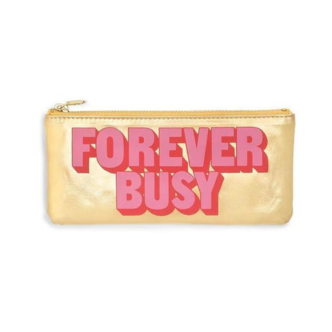 Ban.do Forever Busy Zipper Pouch