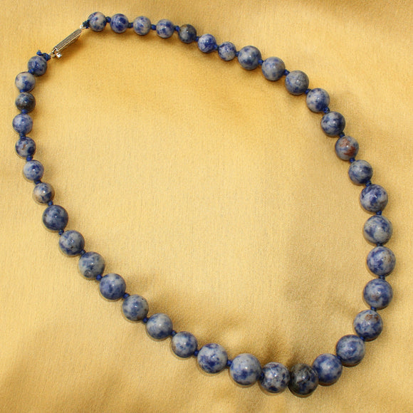 Imeora Exclusive Sodalite The Harmonizer Gemstone Necklace