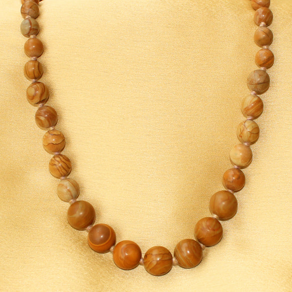 Imeora Wood Jasper The Stabilizer Necklace