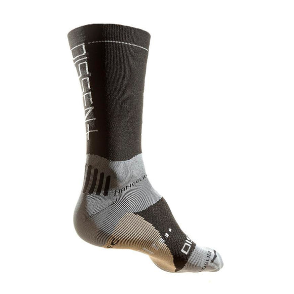 "Dissent Labs Supercrew Nanoglide +Copper 8"" Compression Sock"