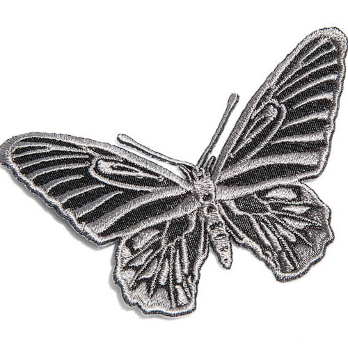 butterfly iron-on patch