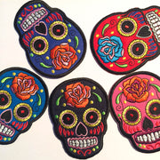 suger skull embroidery