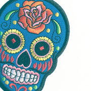 Sugar Skull Patch - Choose your Color