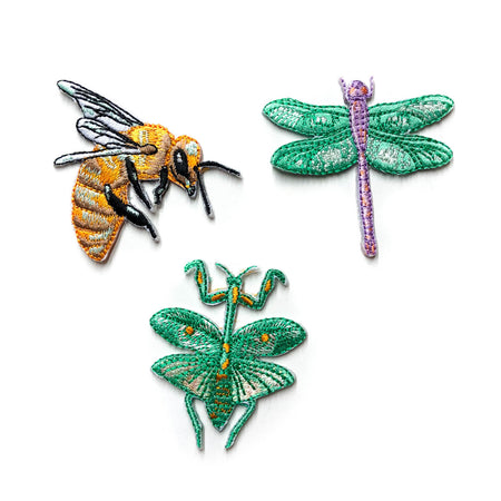 Insects Patches (3 pieces)