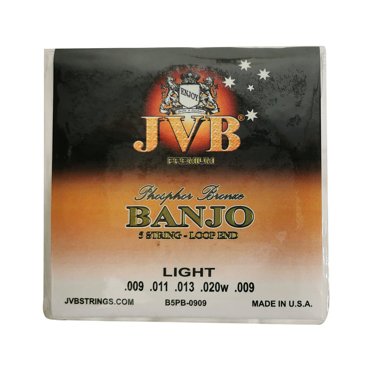 JVB Phosphor Bronze Banjo Strings 9 -20