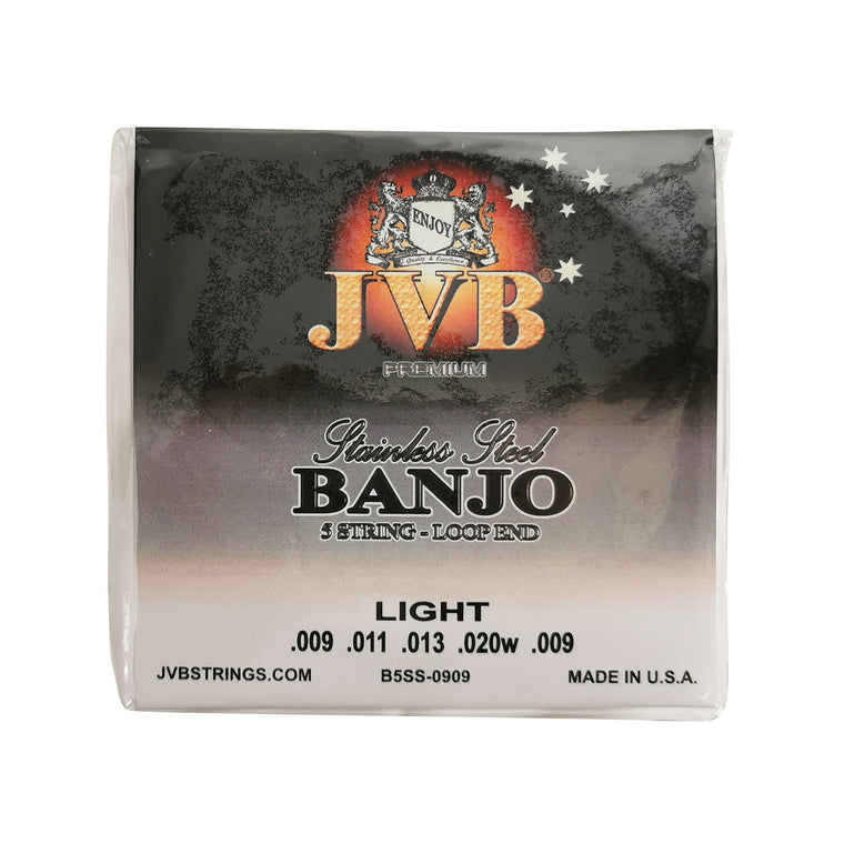 JVB Stainless Steel Banjo Strings 9 - 20