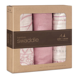 tranquility bamboo swaddles by aden & anais