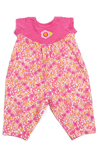 Baby Lulu Baby Floral Knit Bloomer - tummystyle.com