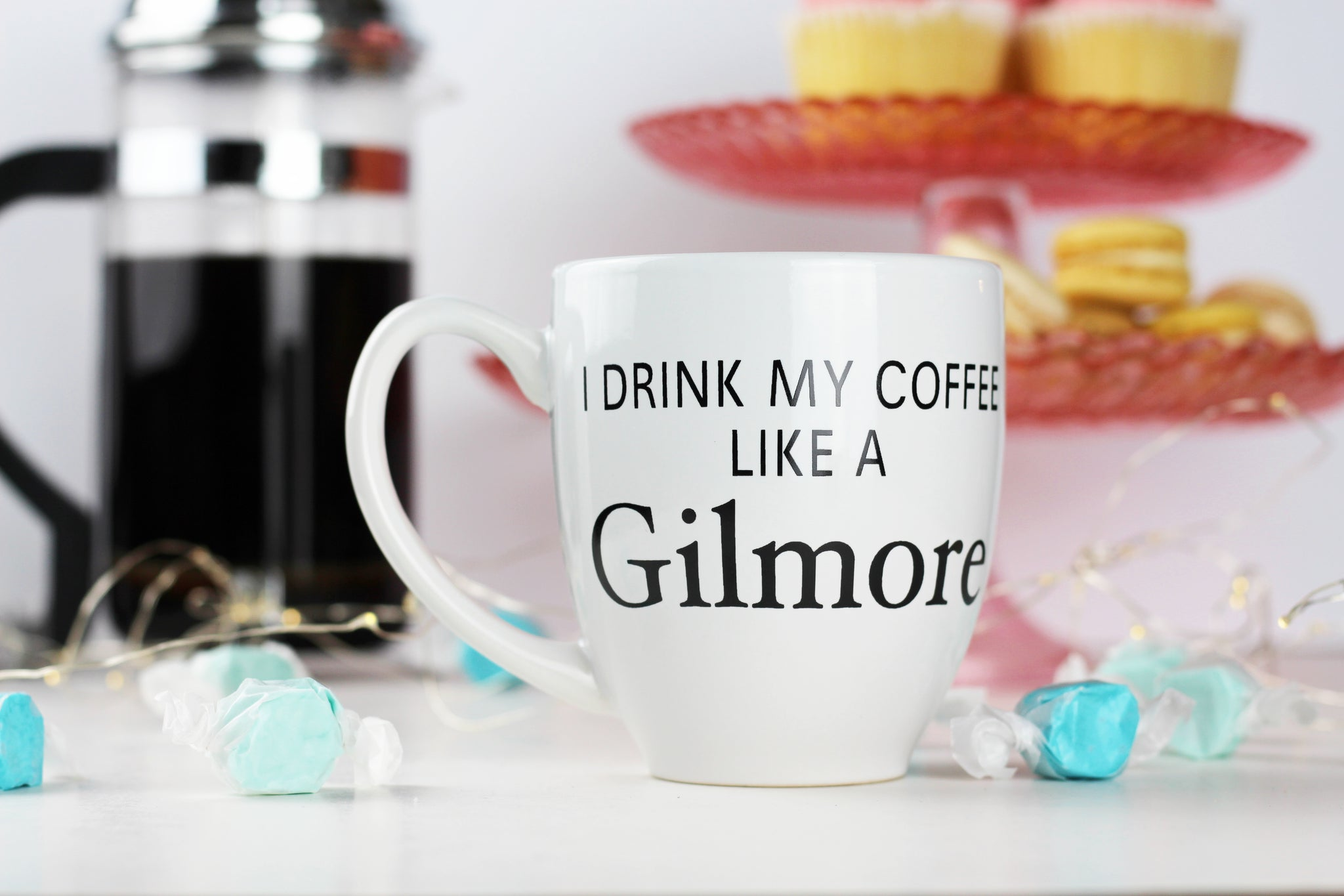 I drink my coffee like a Gilmore