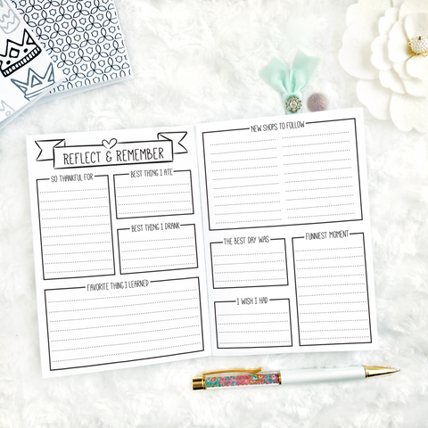 Conference Planner | Printed