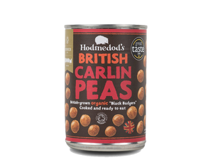 "Carlin Peas ""Black Badger"", økologisk (400 g)"