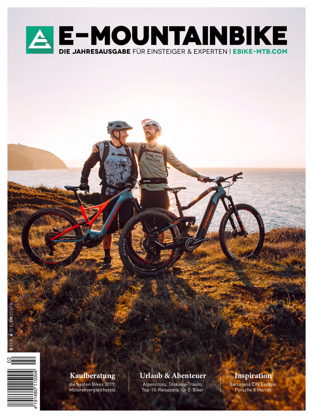 E-MOUNTAINBIKE Print-Edition 2019 (German)