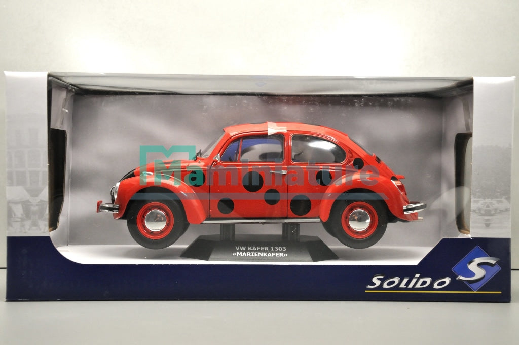 VW Beetle 1303 Marienkafer 1/18 SOLIDO
