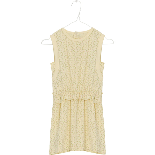 Yoma Dress - Yellow Anise Flower