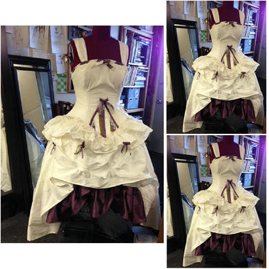 1860S Victorian Corset Gothic/Civil War Southern Belle Ball Gown Dress Halloween dresses  CUSTOM MADE R570 - Cosplay Infinity
