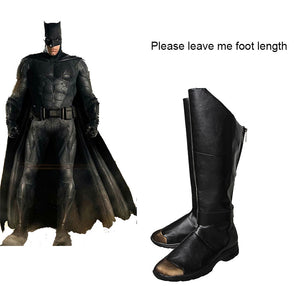 Justice League Unisex Batman Cosplay Shoes  Boots Batman Superhero - Cosplay Infinity