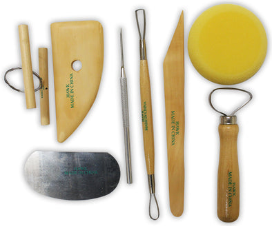 8 Piece Carving & Sculpting Set for Clay & Wax  (Artists Best: CR-28008) - Cosplay Infinity