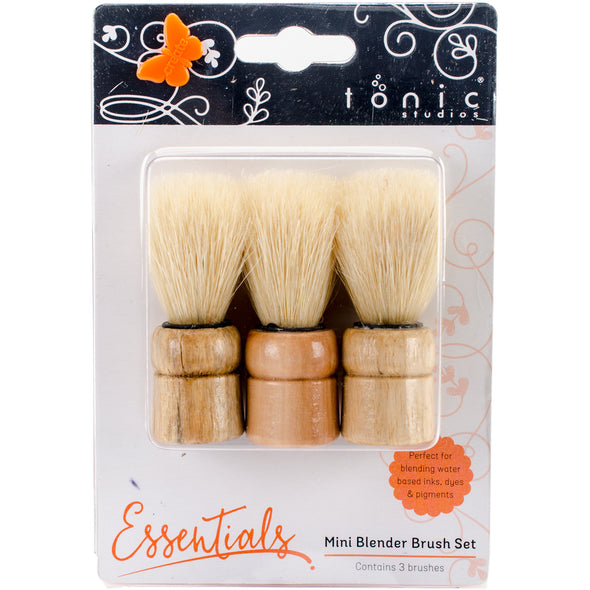 Tonic Studios Mini Blending Brush Set 3/Pkg- - Cosplay Infinity