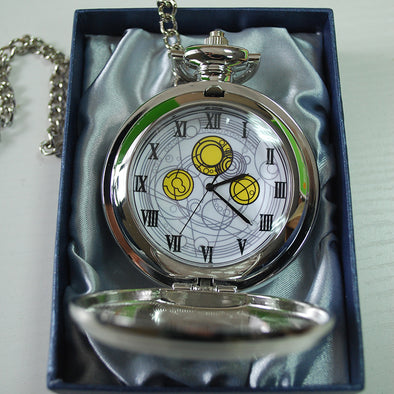High Quality Doctor Who Cosplay Pocket Watch David Tennant Master's Fob Watches With Chain