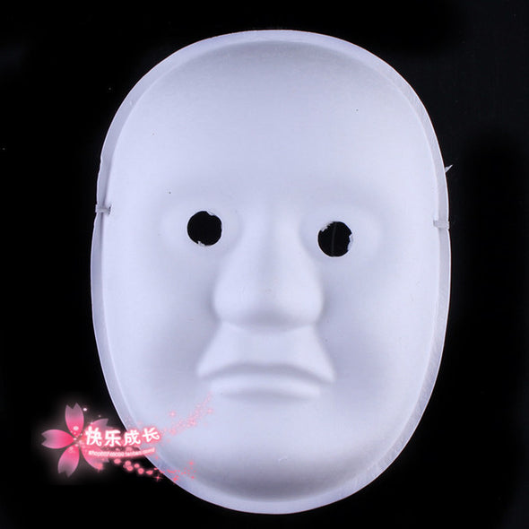 Lot of 10 Assorted Unpainted Blank Mask DIY Hand Painting Fine Art - Cosplay Infinity